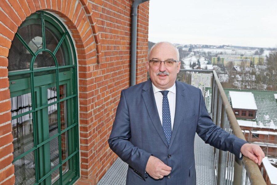 Steffen Ludwig, Bürgermeister von Reinsdorf.