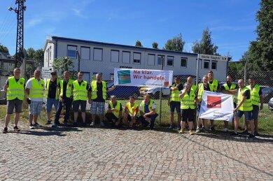 Am Dienstag sind Bofrost-Beschäftigte in Adorf für ein höheres Grundgehalt und einen Flächentarifvertrag in den Streik getreten.