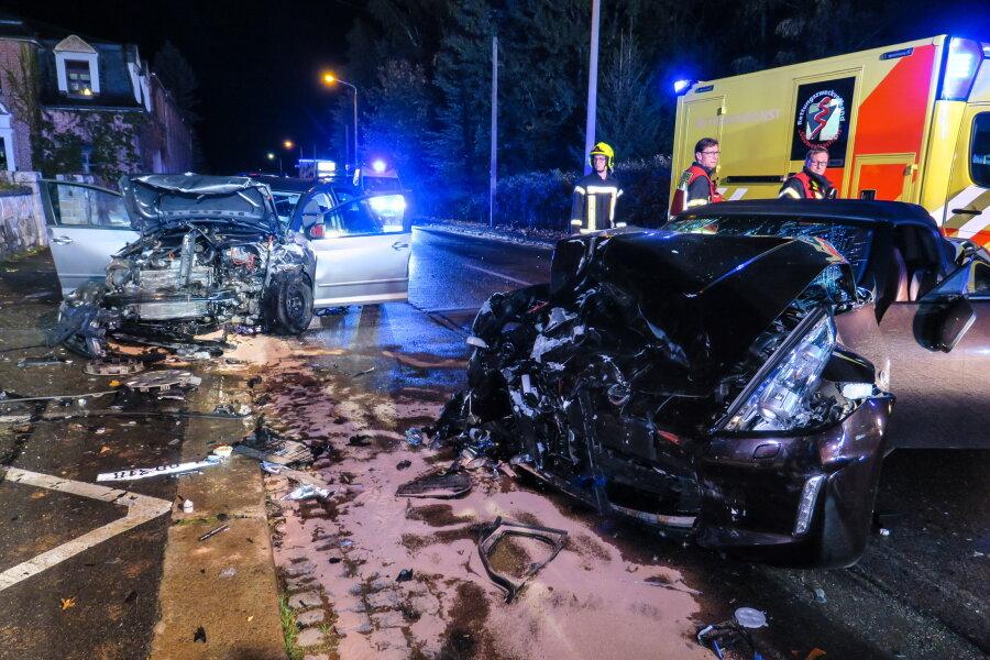 Drei Verletzte bei Unfall in Kirchberg