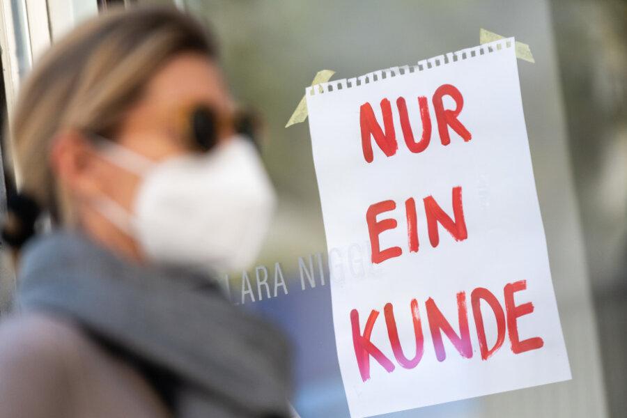 Keine Maskenpflicht mehr beim Einkaufen in Sachsen