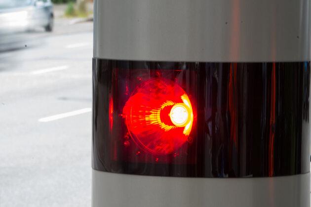 Neuer Blitzer an der B 173 in Memmendorf