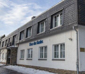 Das Haus des Gastes in Ehrenfriedersdorf soll in den kommenden Jahren umgebaut werden.