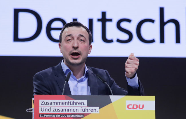Paul Ziemiak ist neuer CDU-Generalsekretär.