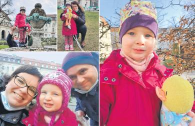 Die dreijährige Clara ist gerne draußen. Es der einzige Ort, an dem sie gleichzeitig mit ihren Eltern Sylvia und Nico Zeit verbringen kann. Drinnen, im Herzzentrum Berlin, geht das wegen des Schutzes vor Corona nicht.