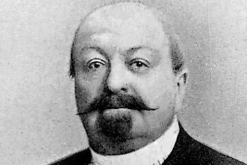 Erfinder und Unternehmer Johann Ritter von Zimmermann um 1895.