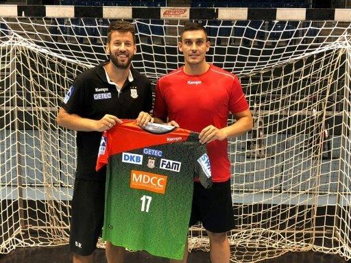 Ignacio Plaza (re.) mit Geschäftsführer Bennet Wiegert