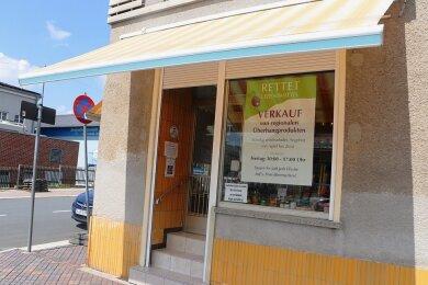Im früheren Bäckerladen im Zentrum von Pausa ist wieder Leben eingezogen.
