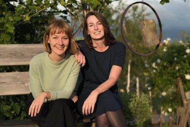 Hanna Lutz und Stephanie Frost (rechts) haben gemeinsam die Firma aus der Taufe gehoben.