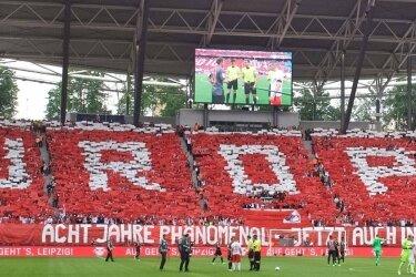 Die Anhänger von RB Leipzig hören am Mittwoch vor der Partie gegen die AS Monaco zum ersten Mal im eigenen Stadion die Champions-League-Hymne.