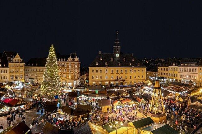 """Gibt es 2021 einen Annaberger Weihnachtsmarkt? Diese Frage lässt sich aktuell noch nicht beantworten. Fest steht aber laut Stadtverwaltung: """"Wir Annaberg-Buchholzer wollen!""""."""