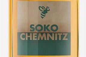 """Dieser Honigtopf war auf der Website der Kunstaktion """"Soko Chemnitz"""" zu sehen. Der Begriff """"Honeypot"""" stammt aus der Hackerszene und bezeichnet ein Scheinziel, etwa einen präparierten Server, mit dem Internet-Angreifer vom eigentlichen Ziel weggelockt werden."""