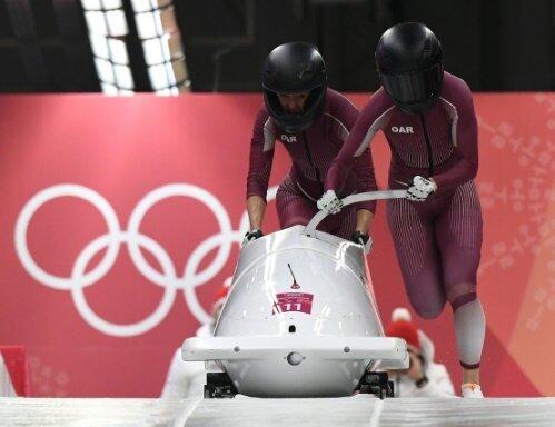 Nadescha Sergejewa (r.) steht unter Dopingverdacht