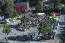 Auf dem Hammerparkplatz fand am Samstag der freigeistige Sommerabend des Vereins statt.