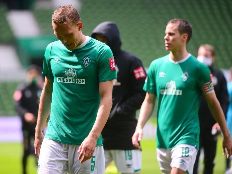 Die Bremener um Ludwig Augustinsson (l) verloren erneut.