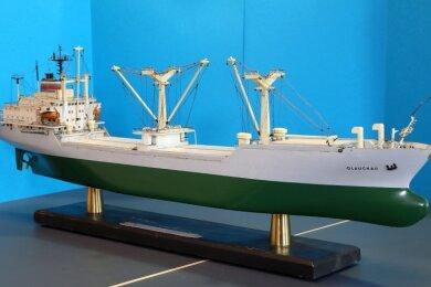 Das Modell des Schiffes im Rathaus.