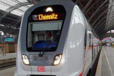 Vorgesehen ist, die Intercity-Linie (IC) 17, die von Rostock über Berlin nach Dresden verkehrt, zweimal pro Tag und Richtung bis nach Chemnitz zu verlängern.