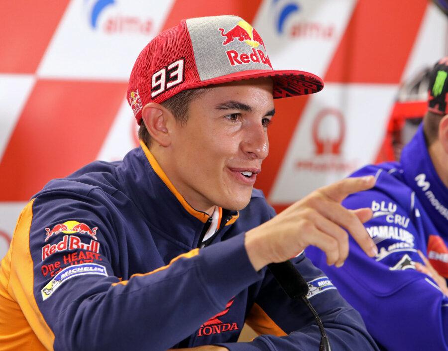 Titelverteidiger Marc Marquez gibt in dieser Saison die Richtung in der MotoGP-Klasse vor.