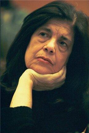 Susan Sontag (1933 bis 2004) war einer der wenigen ganz großen Literatur-Stars in den USA.