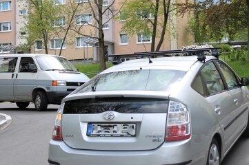 """Streitpunkt: Kreuzung im Wohngebiet """"Am Sattelgut""""."""
