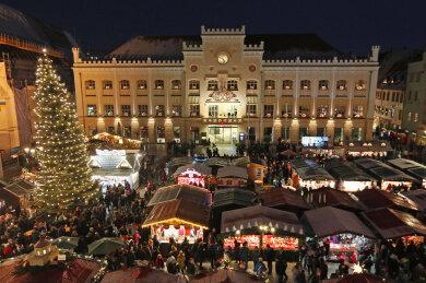 Der Zwickauer Weihnachtsmarkt 2018.