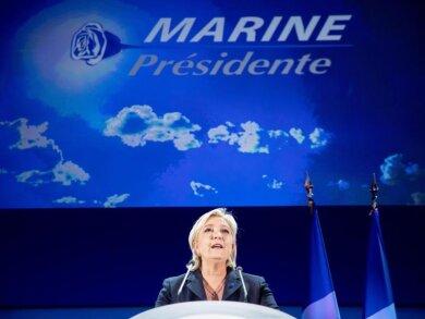Marine Le Pen ist einen Schritt weiter.