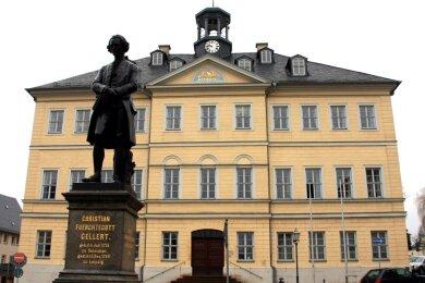 Die Urkunde zur Vergabe des Titels einer Großen Kreisstadt ist am Dienstag per Post im Hainichener Rathaus eingetroffen, unterschrieben von Sachsens Innenminister Roland Wöller (CDU).