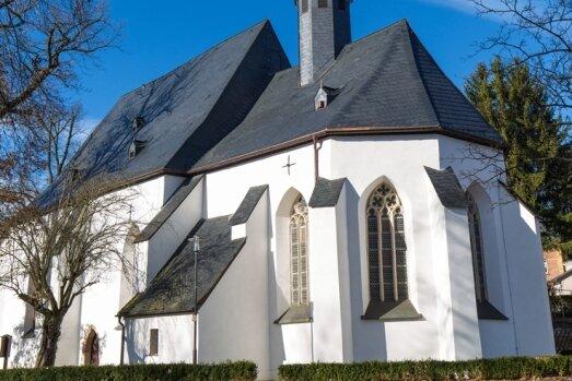 Die Stollberger Marienkirche wird eines der Gotteshäuser sein, die bei der Wanderung auf dem Jakobsweg besucht werden.