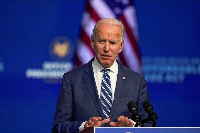 Joe Biden - GewählterUS-Präsident