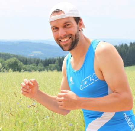 Training auf der Hausdorfer Höhe: Thomas Schröder nimmt am Samstag am Gornergrat Zermatt Marathon in der Schweiz teil. Dabei geht es 42 Kilometer fast nur bergauf.