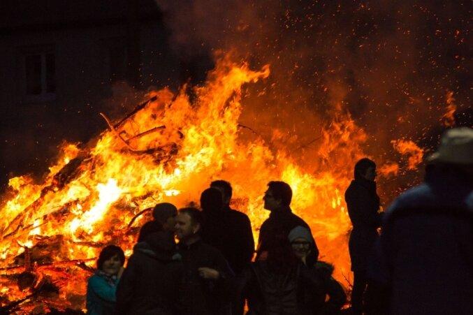 Stadt Chemnitz genehmigt Höhenfeuer