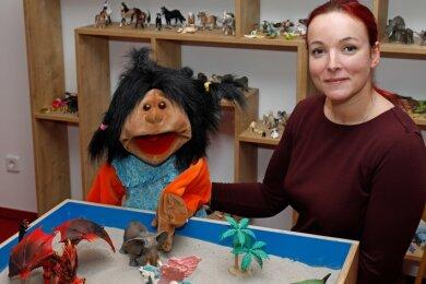 Die Kinder- und Jugendpsychotherapeutin Bianca Ulbricht hat in Hohenstein-Ernstthal eine neue Praxis eröffnet.