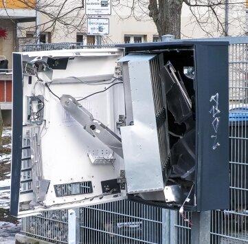Erst kürzlich haben Unbekannte an der Morgenbergstraße einen Automaten gesprengt.