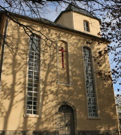 Die Schlosskirche in Mühltroff gehört zum neuen Kirchspiel St. Martin Vogtland. Es ist die Wirkungsstätte von Pfarrer Rainer Sörgel, der den neuen Zusammenschluss leitet.
