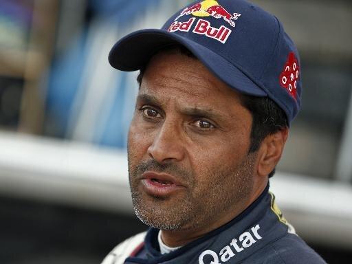 Nasser Al-Attiyah unmittelbar vor Gesamtsieg