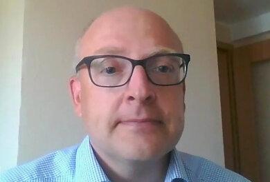 """Sven Schulze im Videointerview mit der """"Freien Presse"""". In dem rund 24-minütigen Gespräch sprach der Finanzbürgermeister von Chemnitz über seinen Wahlkampf, seine Ziele, das Studium in London und wie es nach dem ersten Wahlgang weitergehen könnte."""