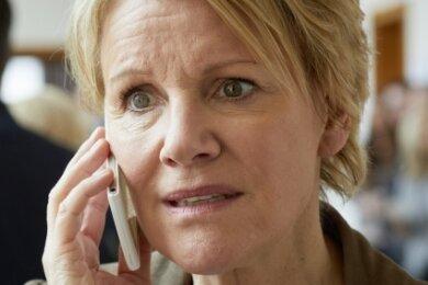 Marie Brand (Mariele Millowitsch) denkt schneller und kann mit beiden Händen gleichzeitig schreiben.