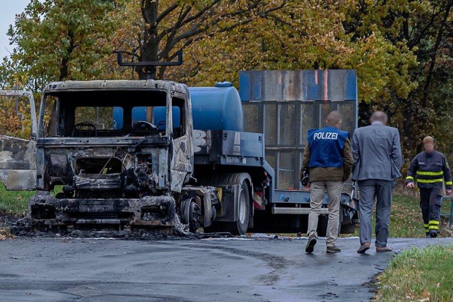 Brandanschlag in Rodewisch: Innenminister kündigt Belohnung für Hinweise an