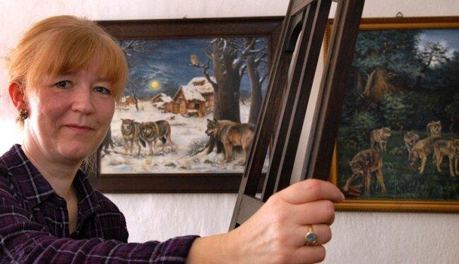 """<p class=""""artikelinhalt"""">Museumschefin Dana Brode aus Frankenberg hat vor einer Weile ihr altes Hobby - die Malerei - wieder neu für sich entdeckt. Sie kann dabei abschalten.</p>"""