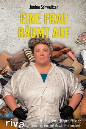 """Das Buch Janine Schweitzer: """"Eine Frau räumt auf"""". Riva-Verlag. 160 Seiten. 16,99 Euro."""