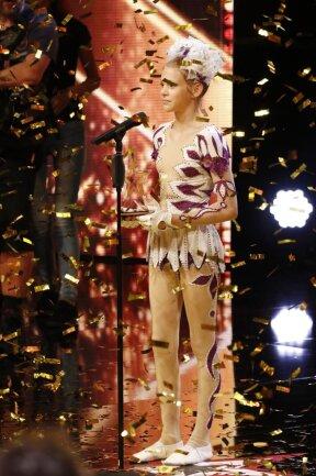"""Dieter Bohlen hatte Ameli Bilyk mit dem goldenen Buzzer ins Finale der Show """"Das Supertalent"""" befördert."""