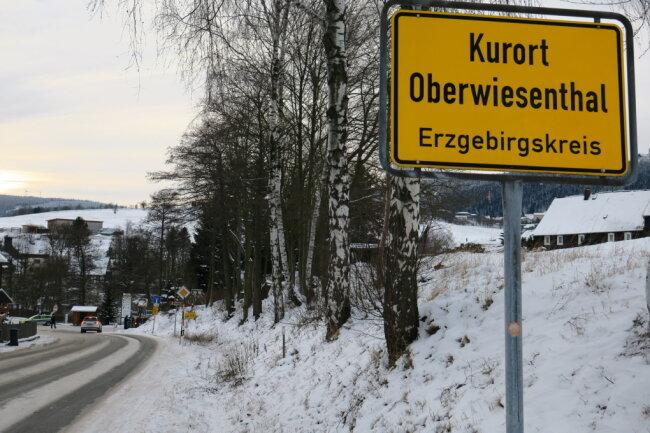 Oberwiesenthal war ein beliebtes Ausflugsziel am Sonntag.