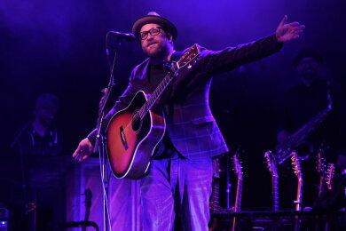 Musiker Gregor Meyle gastierte am Freitagabend zum zweiten Mal im Vogtland.