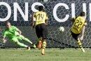 Christian Pulisic (r.) trifft doppelt gegen Liverpool