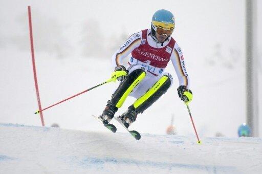 Felix Neureuther belegt bei seinem Comeback Rang 21