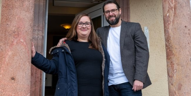 Muldenschlösschen Rochsburg: Mandy und Alexander Simon haben das Hotel Muldenschlösschen in Rochsburg übernommen.