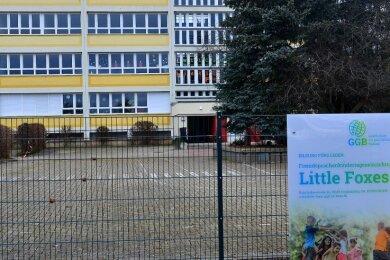 Aktuell nutzt die Fremdsprachenkita Little Foxes in Frankenberg diesesehemalige Schulgebäude in der Kopernikusstraße.