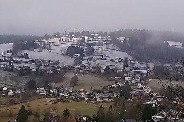 Ein erster Hauch des Winters war am Freitag auf dem Aschberg zu spüren.