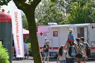 Am Wochenende finden Familienimpftage im Sonnenlandpark Oberlichtenau statt.