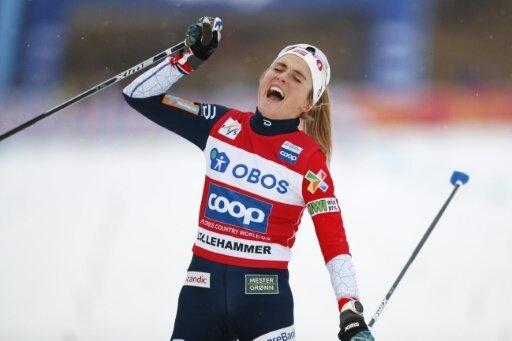 Viertes Rennen, vierter Sieg: Therese Johaug