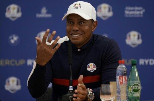 Tiger Woods freut sich auf den Ryder Cup